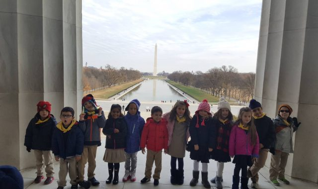 Golden Pond School – GPS Kindergartners tour Washington D.C.